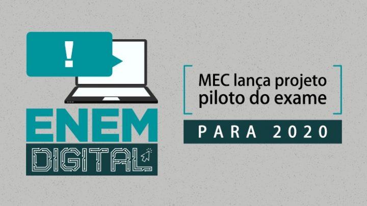 MEC anuncia mudanças no Enem: aplicação da versão digital em 2020 e fim da versão impressa até 2026